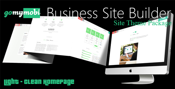 gomymobiBSB's Site Theme: Light - Clean Homepage