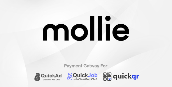 Mollie Payment Plugin For QuickCMS