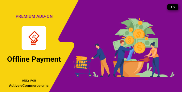 Active eCommerce Offline Payment Add-on