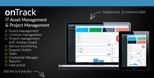 onTrack - IT Asset Management & Project Management