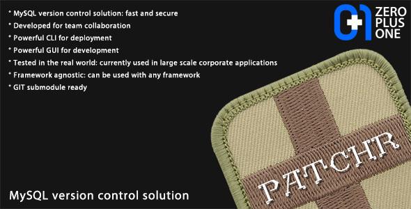 patchr - MySQL version control