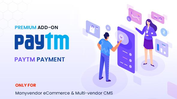 Manyvendor CMS Paytm Addon