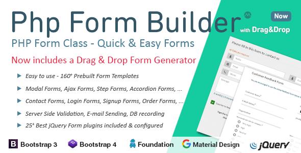 PHP Form Builder