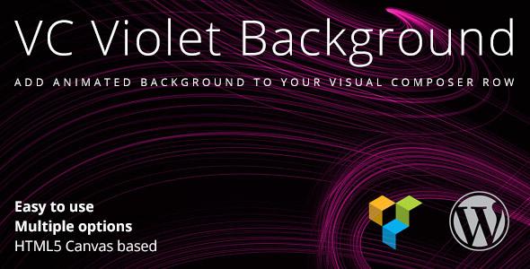 VC Violet Background