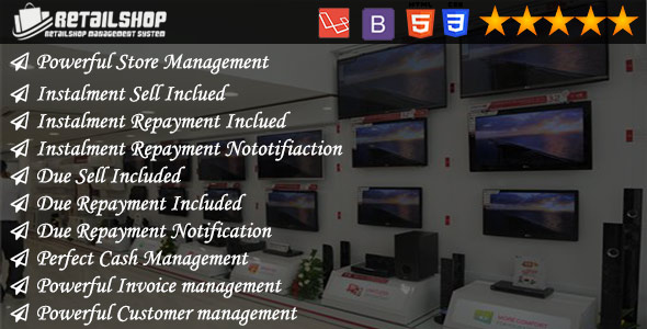 myShop - Installment and Due Sell Supported Powerful Shop Management System