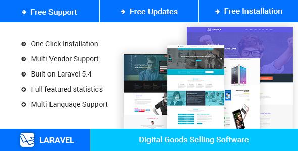 MenorahMarket - Multi Vendor Digital Goods Market Place Script