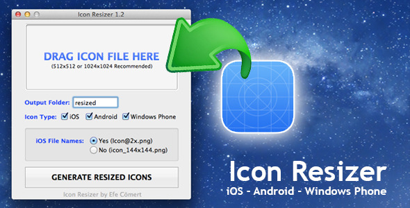 Mobile Icon Resizer (Mac)