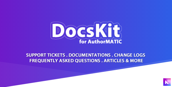 Docskit for AuthorMATIC