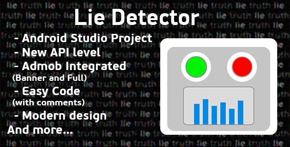 Lie Detector Prank + Admob Ads
