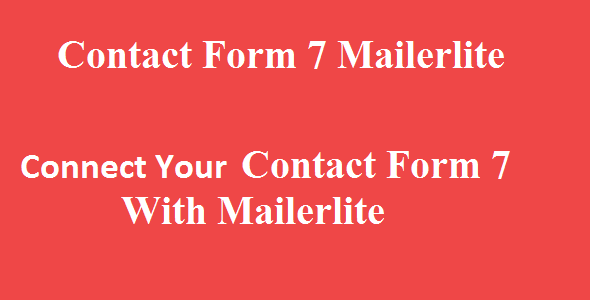 Contact Form 7 Mailerlite Integration