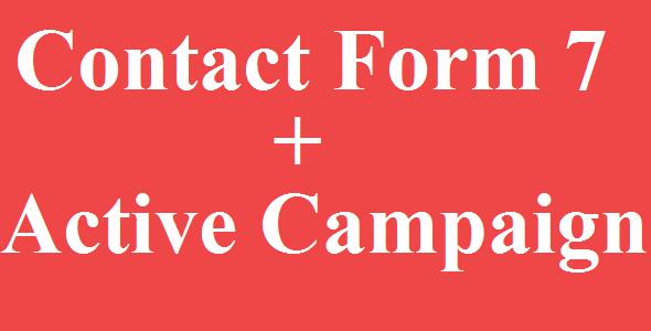 Contact Form 7 Active Campaign Integration