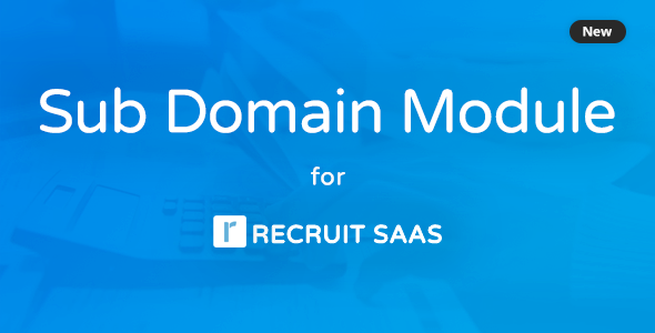 Subdomain Module for Recruit Saas