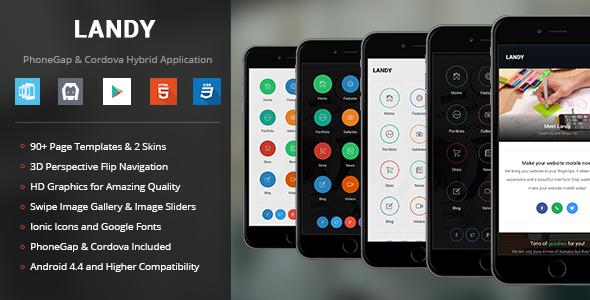 Landy | PhoneGap & Cordova Mobile App