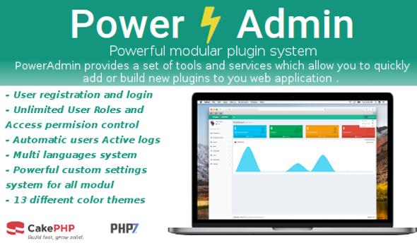 PowerAdmin - - Advanced PHP Admin Management