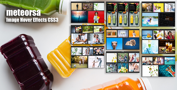 meteorsa - CSS3 Image Hover Effects