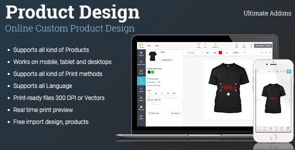 Ultimate Addons for Custom Product Designer (WooCommerce