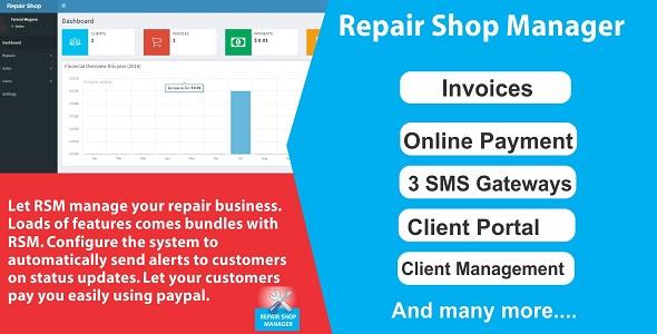 Repair Shop Manager