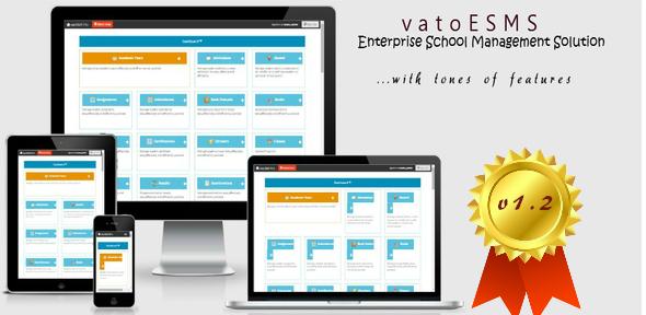 vatoESMS v1.2 - Enterprise School Management System