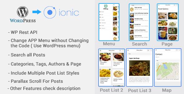 MBlog - Ionic Blog For WordPress