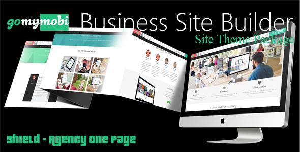 gomymobiBSB's Site Theme: Shield - Agency One Page