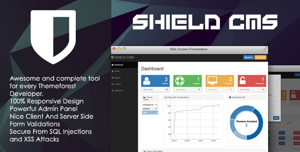SHIELD - Freelancer Content Management System