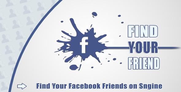 Find Your Facebook Friend - Sngine
