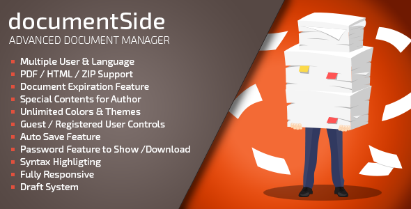 documentSide PHP Document & Guide Manager
