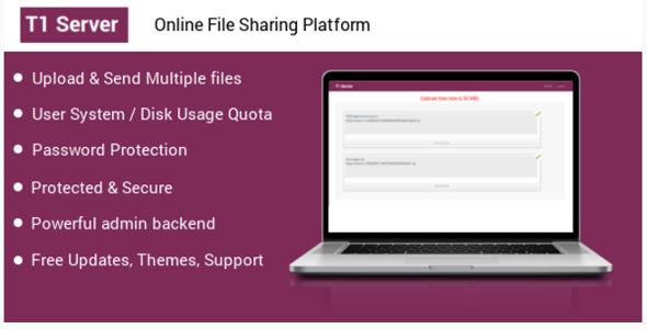 T1 File upload & sharing