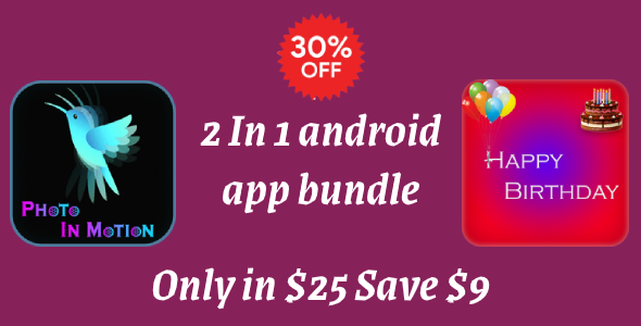 2 android app source code with ad mob (Android app bundle)