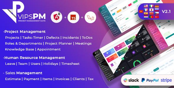 VipsPM - Project Management Suite