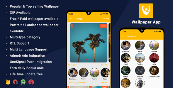 Android Wallpapers App (HD