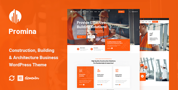Promina - Construction And Building WordPress Theme