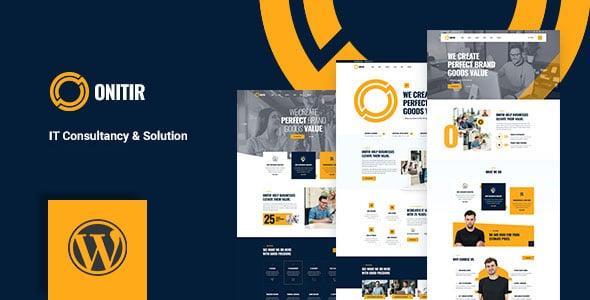 Onitir - IT Solutions WordPress theme