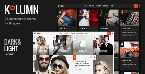 Kolumn - Blog Theme