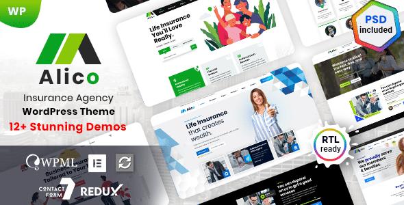 Alico - Insurance WordPress