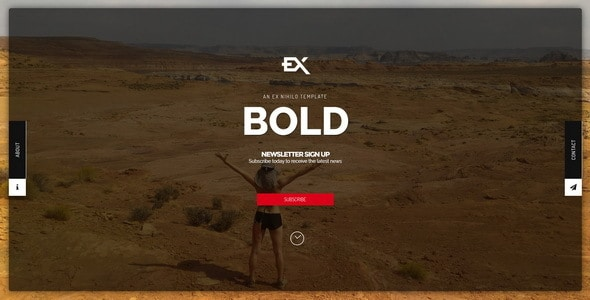 Bold || Responsive Under Construction Template