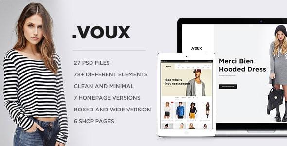 .VOUX E-commerce PSD