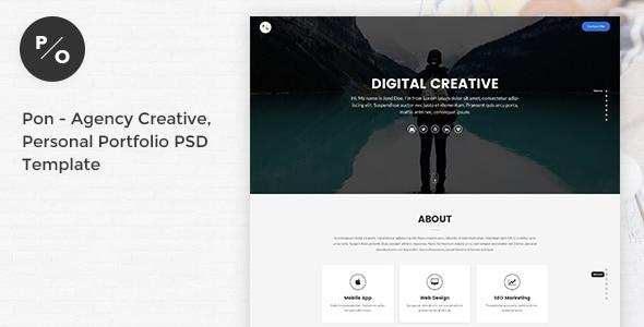Pon - Responsive Agency Creative