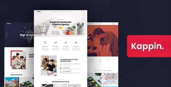 Kappin - Modern Agency and Portfolio WordPress Theme