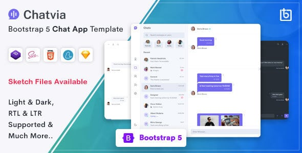 Chatvia - Bootstrap 5 Chat Template
