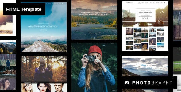 Photography HTML Template