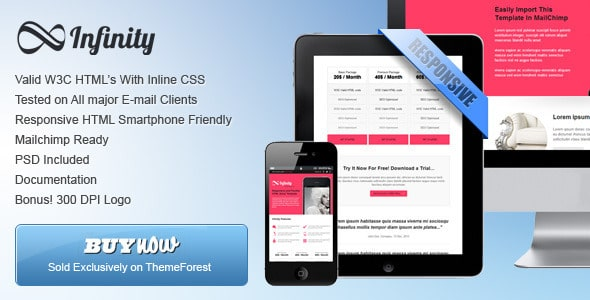 'Infinity' - Flexible Email Template