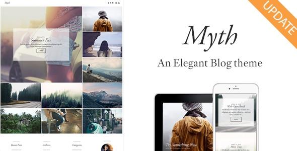 Myth - An Elegant Storytelling WordPress Blog Theme