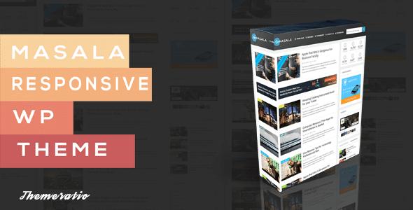 Masala - A Responsive WordPress Blog Theme