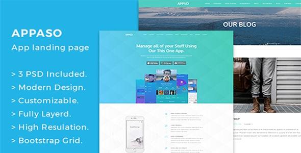 Appso Creative App Landing Page