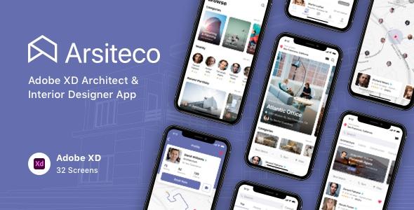 Arsiteco - Adobe XD Architect & Interior Designer App