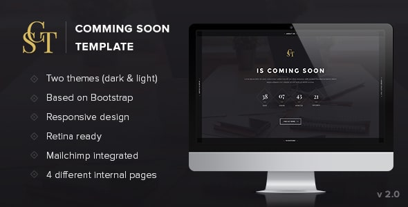 CST - Creative Coming Soon Template