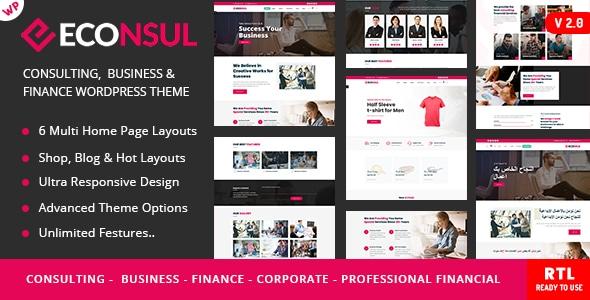 Econsul - Consulting  WP