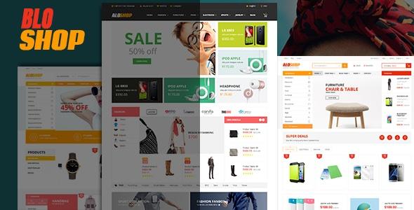 Bloshop - eCommerce Responsive HTML Template