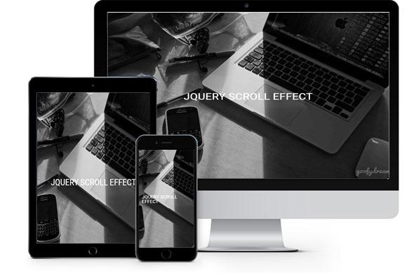 jQuery Scroll Effect